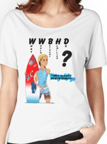 What Would Bethany Hamilton Do? Women's Relaxed Fit T-Shirt