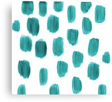 Handpainted Brush Texture Canvas Print