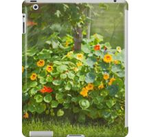 Lush Flower Bed - Nasturtium iPad Case/Skin
