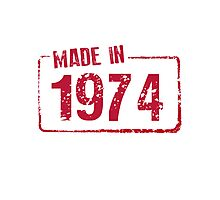 Made in 1974 Photographic Print