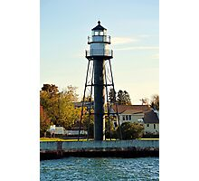 Duluth Harbor South Breakwater Inner Lighthouse  Photographic Print