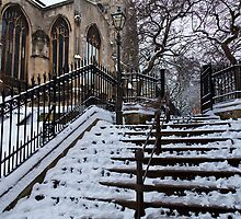 Steps to St Peter Mancroft by Gary Rayner