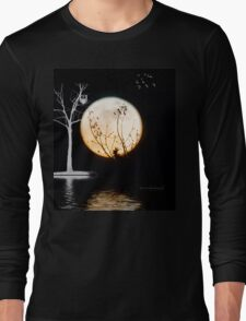 Super Moon Light (T-Shirt) Long Sleeve T-Shirt