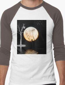 Super Moon Light (T-Shirt) Men's Baseball ¾ T-Shirt