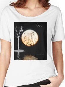 Super Moon Light (T-Shirt) Women's Relaxed Fit T-Shirt