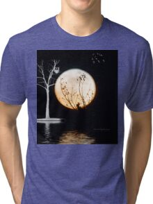 Super Moon Light (T-Shirt) Tri-blend T-Shirt