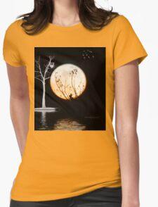 Super Moon Light (T-Shirt) Womens Fitted T-Shirt