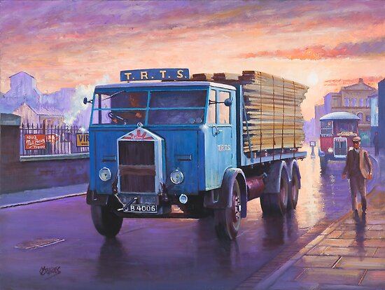 Albion six-wheeler 1935 by Mike Jeffries
