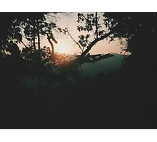 Sunrise at Wei Bao Shan Photographic Print