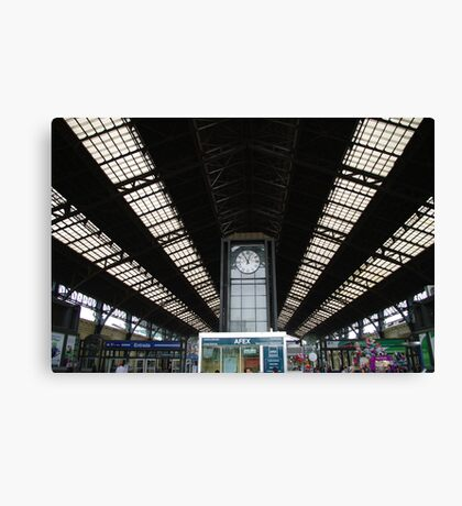 Estacion Central, Santiago de Chile. Canvas Print