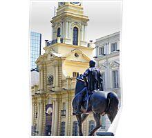 Plaza de Armas, Santiago de Chile Poster