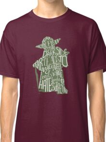 Fear is the Path to Darkside typography design Classic T-Shirt