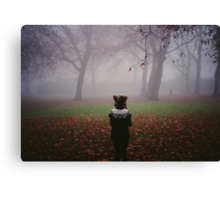 Tell me what is coming for me Canvas Print