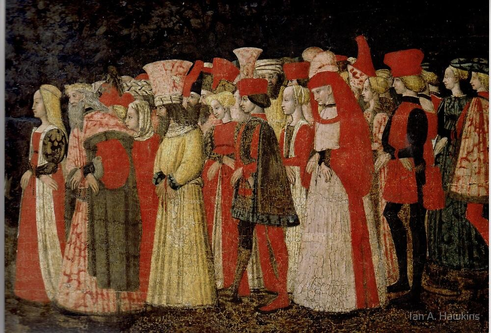 Love Procession: Atributed to Marco del Buono - c 1440's by Ian A. Hawkins