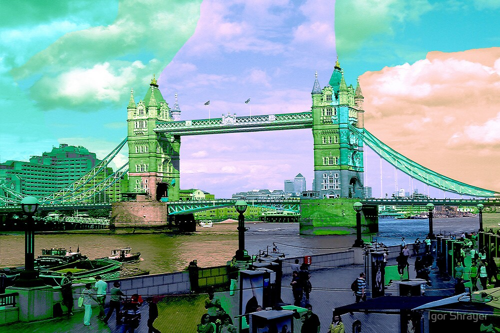 London IV - Tower Bridge by Igor Shrayer