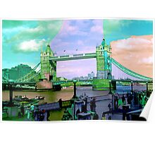 London IV - Tower Bridge Poster
