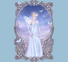 Diamond Birthstone Fairy Womens Fitted T-Shirt