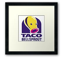 Taco Bellsprout Framed Print
