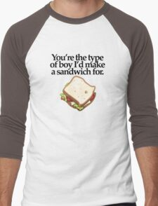 SANDWICH for BOY (LIGHT) Men's Baseball ¾ T-Shirt