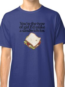 SANDWICH  for GIRL (LIGHT) Classic T-Shirt