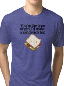 SANDWICH  for GIRL (LIGHT) Tri-blend T-Shirt