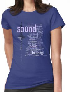 SOUND Womens Fitted T-Shirt