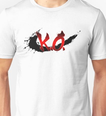 Street Fighter K.O. Unisex T-Shirt