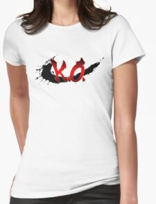 Street Fighter K.O. Womens Fitted T-Shirt