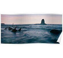 Wreck of the Admiral Von Tromp - Saltwick Bay Poster