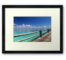 The most picturesque Boardwalk in the world Framed Print
