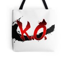 Street Fighter K.O. Tote Bag