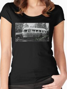 Magic bus Women's Fitted Scoop T-Shirt