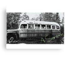 Magic bus Canvas Print