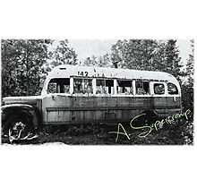 Magic bus Photographic Print