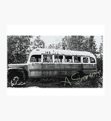 Magic bus Photographic Print