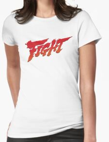 Fight Womens Fitted T-Shirt