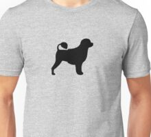 Portuguese Water Dog Silhouette(s) Unisex T-Shirt