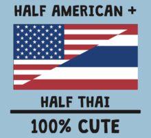 Half Thai 100% Cute Kids Tee