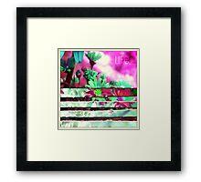 love life... Framed Print
