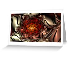 Rose Oil Greeting Card
