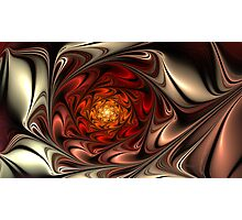 Rose Oil Photographic Print