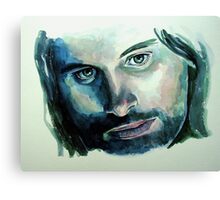 Viggo Mortensen,  featured in Art Universe Canvas Print