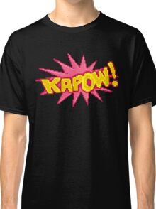 #PIXEL KAPOW! Classic T-Shirt