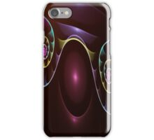 Fractal Rainbow Spirals iPhone Case/Skin