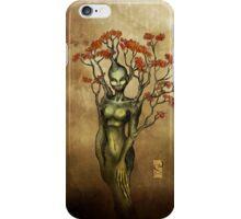 Crimson Dryad iPhone Case/Skin