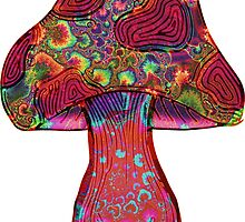 No Borders | Fractal Shroom by Daniel Watts
