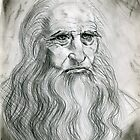 Leonardo DaVinci by Kashmere1646