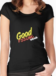 Good feeling Women's Fitted Scoop T-Shirt