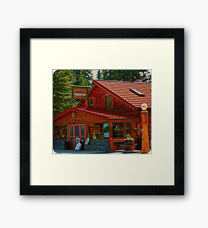 Bragg Creek Trading Post Framed Print