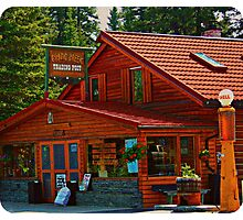 Bragg Creek Trading Post Photographic Print